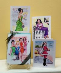 Wine Ladies Assorted Boxed Note Cards