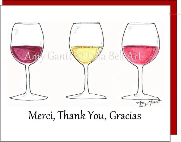 Thank You - Merci, Thank You, Gracias Boxed Note Cards