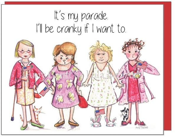 Cranky Ladies on Parade