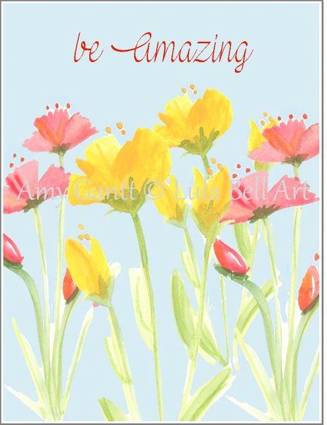 Encouragement - June Flower Greeting Card