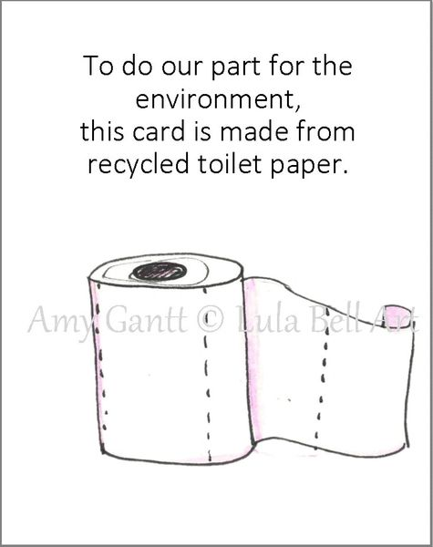 Covid Toilet Paper Birthday Greeting Card