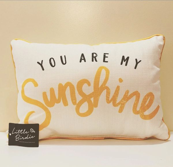Little Birdie - You Are My Sunshine Pillow