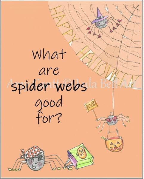 Halloween - Spooky Spiders Greeting Card