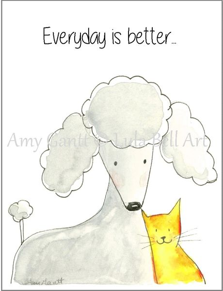 Friendship - By My Side Greeting Card