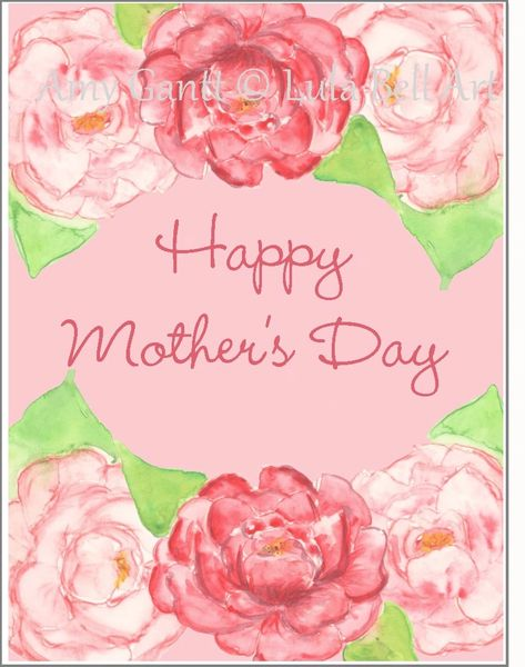 Mother's Day - Flowers for MOM Greeting Card