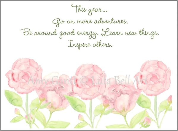 Inspiring Flowers Boxed Note Cards
