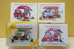Vintage Camper Boxed Note Card Gift Set
