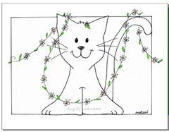 Princess Kitty Boxed Note Cards