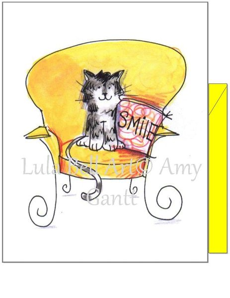 Smile Cat Boxed Note Cards