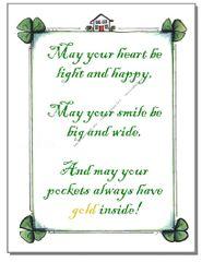 St.Patrick's Day - Irish Luck Greeting Card