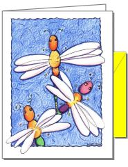 Dragonflies Boxed Note Cards