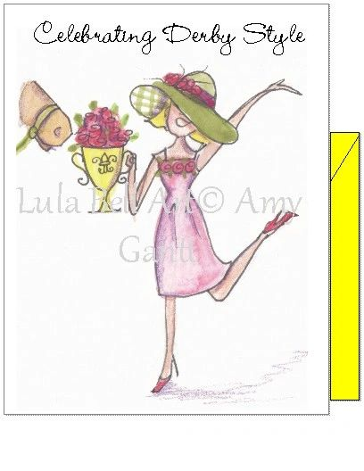 Derby- Celebrating Derby Style Boxed Note Cards