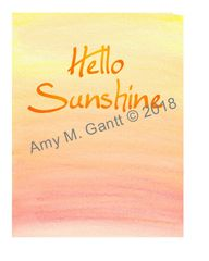 Hello Sunshine Note Cards