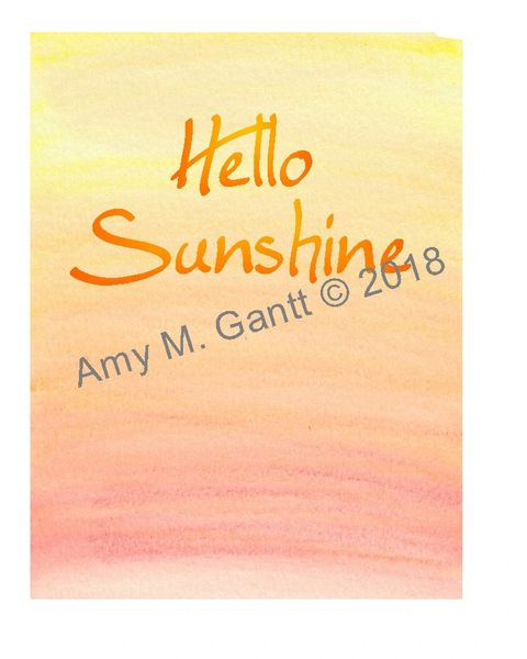 Hello Sunshine Note Cards
