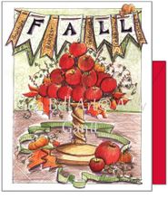 Fall - Fall Apples Greeting Card
