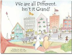 We are all Different. Isn't it Grand! Children's Book