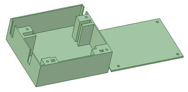 Hextronic HX5010 Servo Tray - Pair