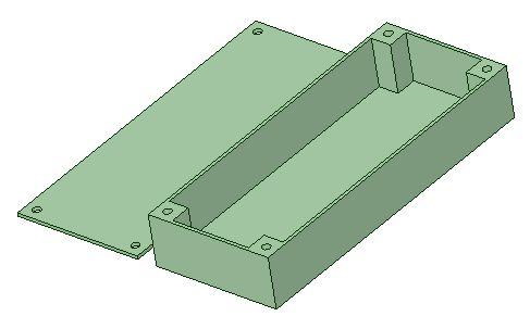 BEC Tray (75x30x12 mm)