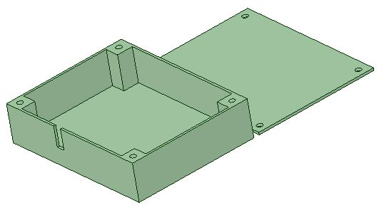 GPS Tray (45x40x12 mm)