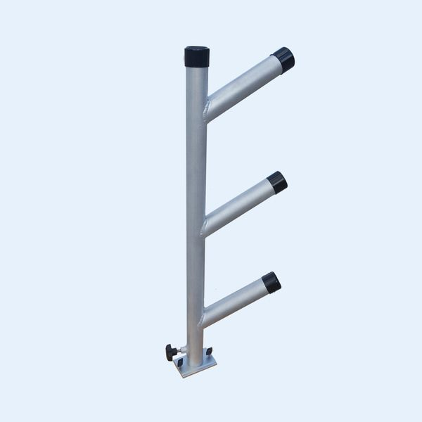 3-Rod Welded Rod Tree with track base or direct mount base