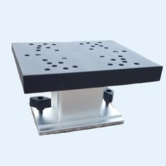 Non-Swivel Universal Pedestal Mount with Track Base