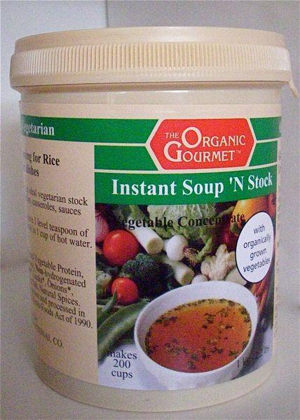 Instant Vegetable Soup 'N Stock Lg. 1 kg