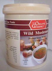 Instant Wild Mushroom Soup 'N Stock L 1 kg