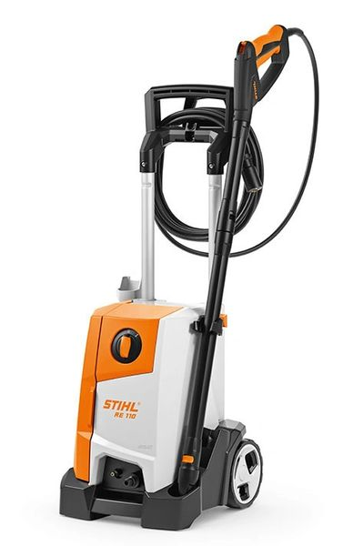 RE 110 Pressure Washer c/w FREE Surface Cleaner