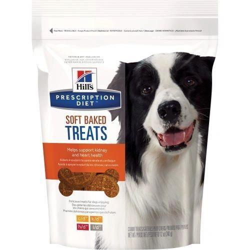 Hill'S Prescription Diet Soft Baked Dog Treats, Medium, 12