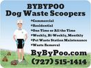 BYBYPOO SERVICES COMMERCIAL RESIDENTIAL ONE TIME OR ALL THE TIME WEEKLY BI WEEKLY MONTHLY