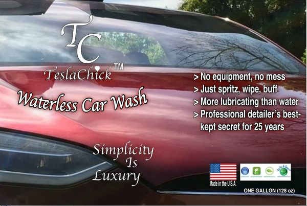 Just the Wash M'am | Best Car Wash For Tesla - TeslaChick ...