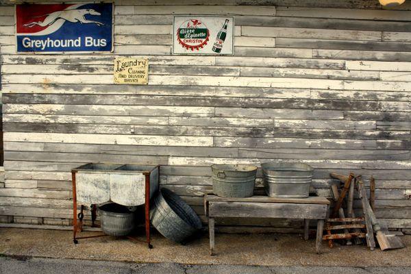 Old Greyhound Bus Station