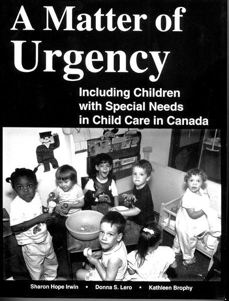 A Matter of Urgency — Including Children with Special Needs in Canada
