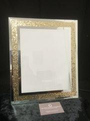 Stunning gold sparkle photo frame 5 x 7 inch photo