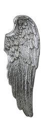 Beautiful Antique silver wall mounted Angel wing - Right wing - 105.5cm tall