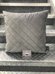 Beautiful diamond quilted design soft touch scatter cushion - colour options