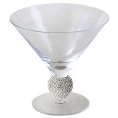Stunning Ice Cream Glass with sparkling diamante ball