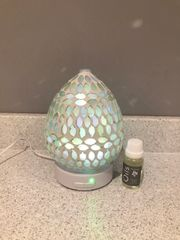 Aqua Pearl LED Ultrasonic Diffuser with essential Oil