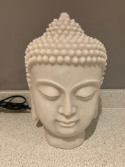30cm Buddha head table lamp