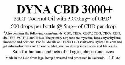 DYNA CBD 3000+