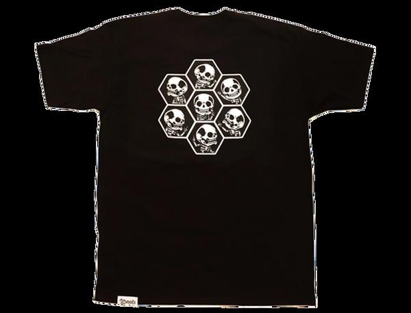 LitWoods Skully Short Sleeve T Shirt