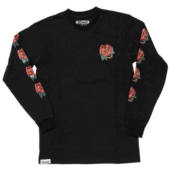 *NEW Thug Rose Long Sleeve T Shirt