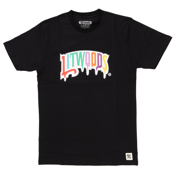 *NEW Lit Drip Short Sleeve T Shirt