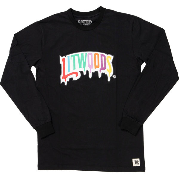 *NEW Lit Drip Long Sleeve T Shirt
