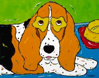 DIET Is A Four Letter Word - Basset Hound