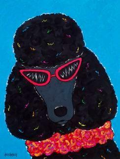 Sassy Diva - Black Poodle