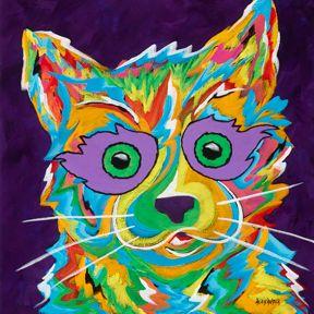 Feeling Frisky - Cat