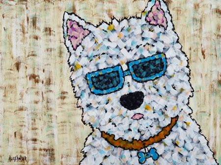 Gotta Wear Shades - West Highland Terrier