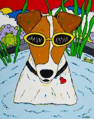Spa Day - Fox Terrier