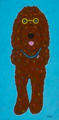 Let's Play - Labradoodle Chocolate